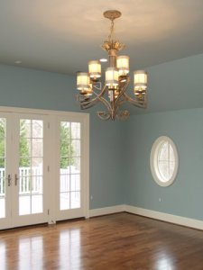Interior Paint in Blue