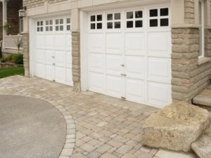 Photo of fiberglass garage doors