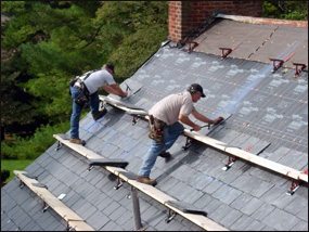 Roofing a historical home