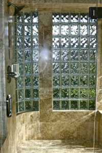 bathroom shower window